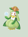 AT: Animated Lilligant by Candy-DanteL