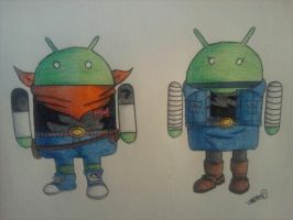 Powered by Android by android17lover
