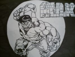 Hulk ink by papabear7