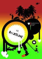 DJ rotzblase by loonyworld