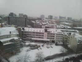 Snow in the city 2 by victorymon