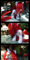 Grell Pony Details by Vampasaurus