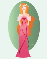 Giselle - doll vector by seystudios