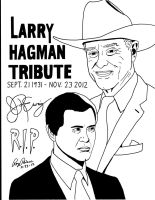Dallas:A tribute to Larry (J.R.) Hagman by RoyPrince