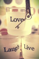 Live. Laugh. Love. by Sarubia