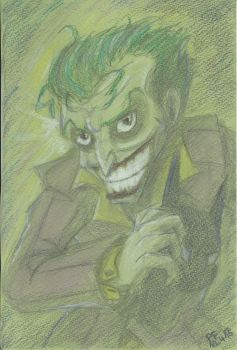 The Joker / traditional by BitingHorse