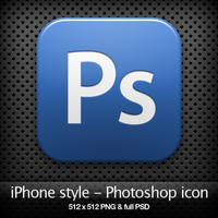 iPhone style - Ps CS3 icon by YaroManzarek