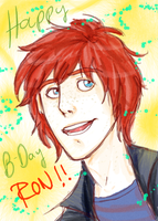 Sketch Nueve: Ron Weasley by Minos336