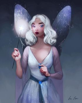 The Blue Fairy by sarucatepes