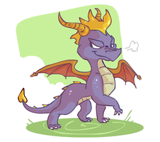 Cool Spyro by sky665