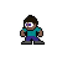 Mega Minecraft (8-Bit Steve) by MelolzuGaming