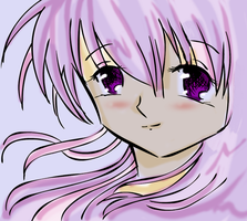 ::Pink haired chick:: by gloriakagome