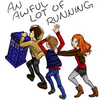 An awful lot of running by AnExtremeGamer