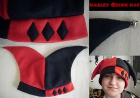 Harley Quinn Hat by MCRizLIFE