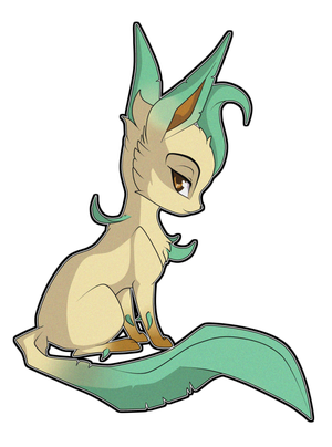 Leafeon by nirac