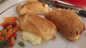 puff pastries with ricotta by RainyBlacksmith