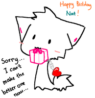 birthday card for nat by animonzta