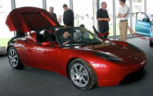 Tesla Roadster by smevcars