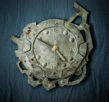 Industrial clock by pwcca87