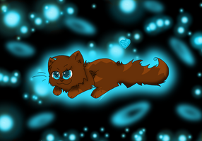 Hawkfrost Chibi by fluffyattackify