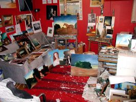 My studio 21 september 2003 by liquidclouds