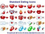 Standard Dating Icons by yourmailkept