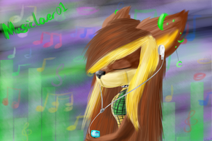 SAT:That music-pashion (SPEEDPAINT IN DESCRIPTION) by lifegiving