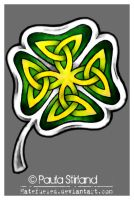 Celtic Clover by hatefueled