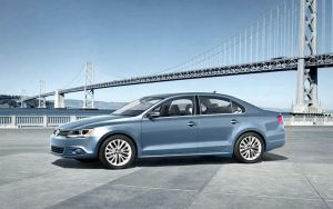 2011 Jetta and the Bay Bridge by puddlz