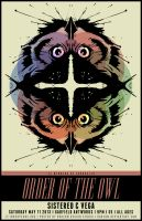 ORDER OF THE OWL POSTER by BURZUM