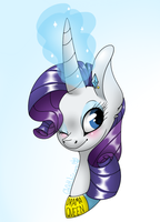 Rarity. by Gh0stUnicorn