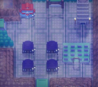 lavender town remake/ pokemon royal blue by pimmermen