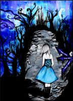 .:Alice In Wonderland Part 1 by DreamOn11