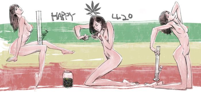 HAPPY 420 by MCfrog