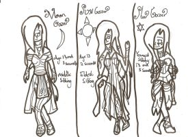 Character Sheet 22: Uncoloured by xxxBrokenSoulxxx