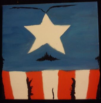 Captain America Crest by RaimiFilmProductions