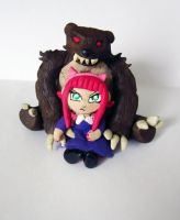 Annie and Tibbers by Thekawaiiod
