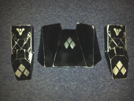 Destiny Cosplay Parts. Chest Plate and Gauntlets by UnknownEmerald