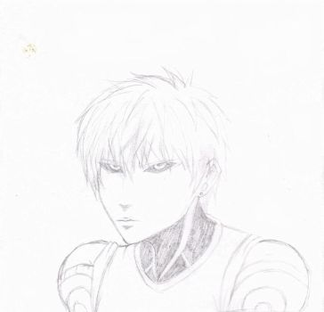 One Punch Man- The Blond Cyborg by Heartless-Gone-Wild