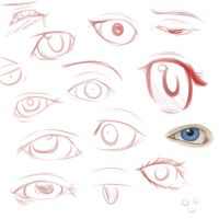 Eye Practice by AdenChan