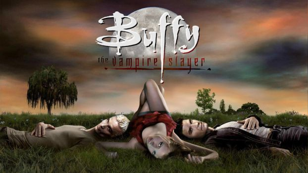 Buffy Vampire Diaries V3 Wallpaper 1080p HQ by outsider88