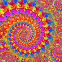 crazy rainbow fractal by photographybypixie