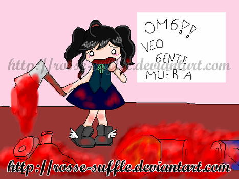 I see dead people D: by Rosse-Suffle