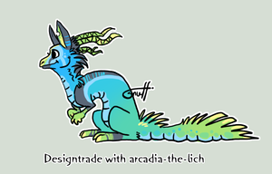 Designtrade with arcadia by griffsnuff