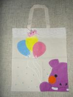 Happy Hippo Bag by AngelicLight100