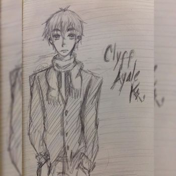 Game of Cards : Sketch Clyff Ayale Winter by Eu-saama