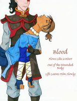 Blood by LindyArt