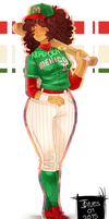 Baseball beautyyy by D-iversa