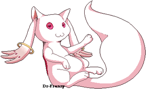 Kyubey's lesson on kawaii by LacedHarlot
