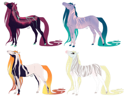 OPEN Horse Adopts by kittyline13